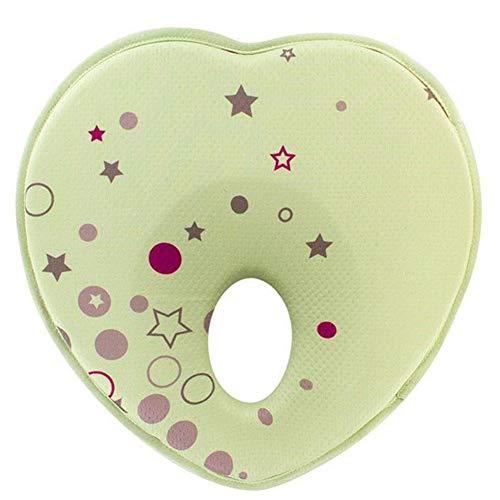 Oreiller bébé de maintien anti bébé tête plate à mémoire de forme Coussin bébé...