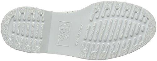 Dr. Martens Unisex-Erwachsene 3989 Brogue Schnürhalbschuhe Weiß (White Smooth)