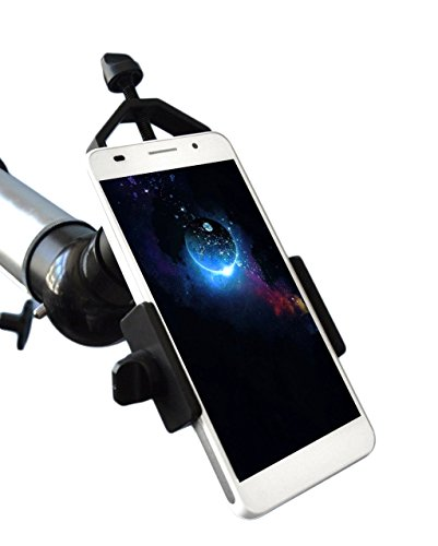 Universal Cell Phone Adapter Mount Compatible with Binocular Monocular Spotting Scope Telescope and Microscope, For Iphone Sony Samsung Moto Etc Re - Smartphone-spotting Mount Scope