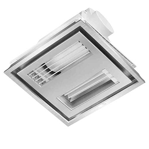 VentiladorExtractor silenciosa Ventilación para Baño 300 * 300 Empotrado En El Techo...