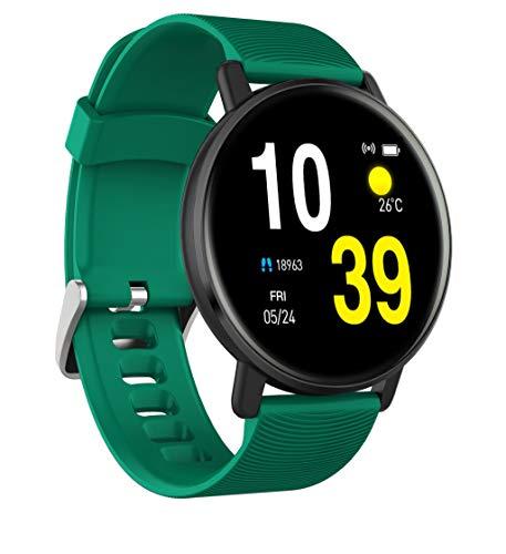 MinusK H5 Blueteeth Smartwatch Fitness Uhr Smart Watch Sport Uhr Intelligente Armbanduhr Fitness Tracker IP67 Wasserdicht Schrittzähler Schlaftracker Romte Capture Kompatibel mit Android Smartphone