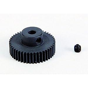 Carson 500011079-Piñón de Motor, 46Dientes, M 0.4Acero