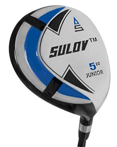 sulov enfants Enfants Golf Clubs, bleu, 78-104cm