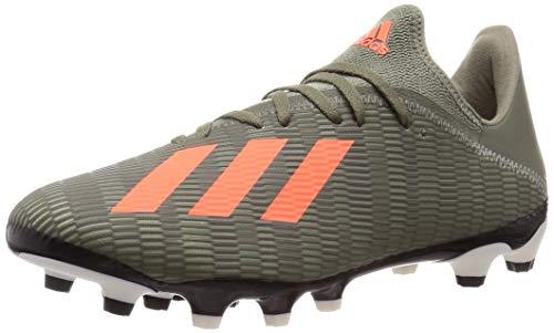 Adidas X 19.3 MG, Botas de fútbol Unisex Adulto, Multicolor (Legacy Green/Solar Orange/Chalk White Legacy Green/Solar Orange/Chalk White), 42 EU