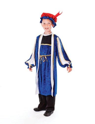 Tudor Boy - Kinder- Kostüm - Large - 134cm bis 146cm