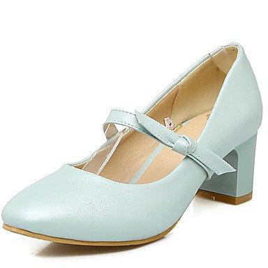 Zormey Frauen Schuhe Ferse Quadratische Spitze Bowknot Schlupf An Der Pumpe Mehr Farbe Verfügbar US6.5-7 / EU37 / UK4.5-5 / CN37