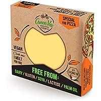 GreenVie Queso de Pizza Bloque vegano 250g (Pack de 1)