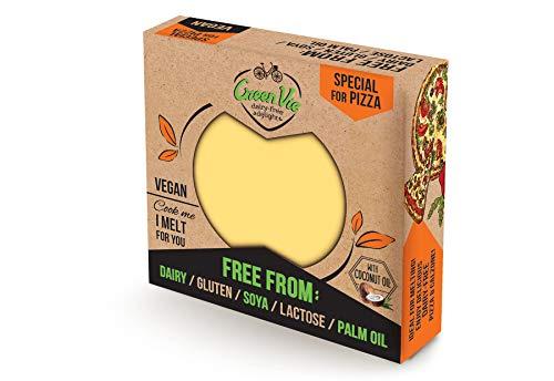 ENVÍO GRATIS* GreenVie Queso de Pizza Bloque vegano 250g (Pack de 1)