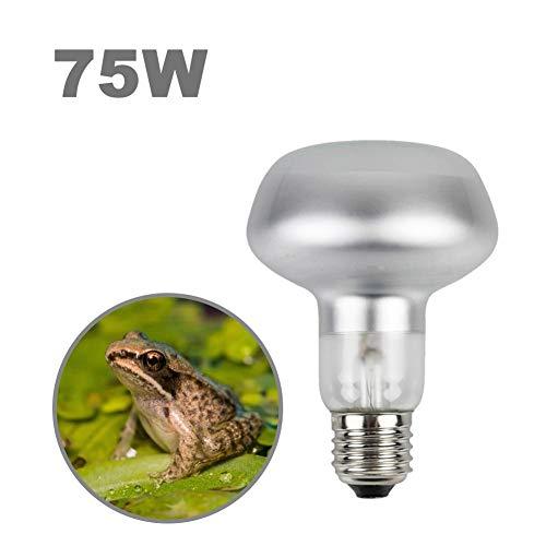 bowlder Wärmelampe 220V Terrarium Lampen DR80 Heizlampe Flat Top Matte Warmhalteheizlampe für Reptilien Schildkröten