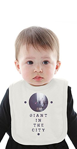 Giant In The City Rebel Skater Organic Bib With Ties Medium -