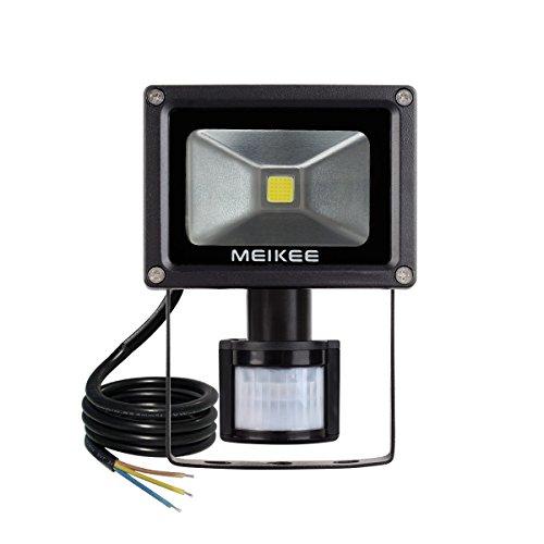 Meikee 10w motion sensor light super bright led flood lights uk meikee 10w motion sensor lightsuper bright led flood aloadofball Images