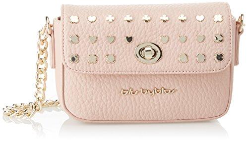 byblos Damen Firefly Umhängetasche, 6x12x17 centimeters Pink (Rosa)