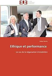 Ethique et performance