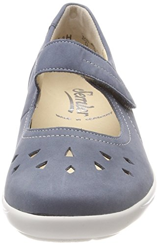 Semler Birgit Ladies Mary Jane Scarpe Basse Blue (navy)