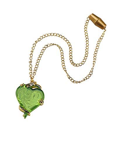 Horror-Shop Descendants Mal's Halskette mit Herzanhänger für Kinder