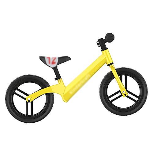 OOFAYHD Kinder Balance Auto Kind Kleinkind Schaum Rollschuh Ohne Pedal Balance Doppelrad Fahrrad - in DREI Farben Erhältlich,B