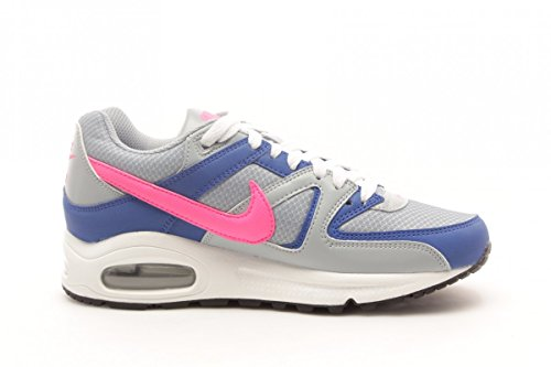 Nike Air Max Command Leather, Scarpe sportive, Uomo GRIGIO-BLU-ROSA