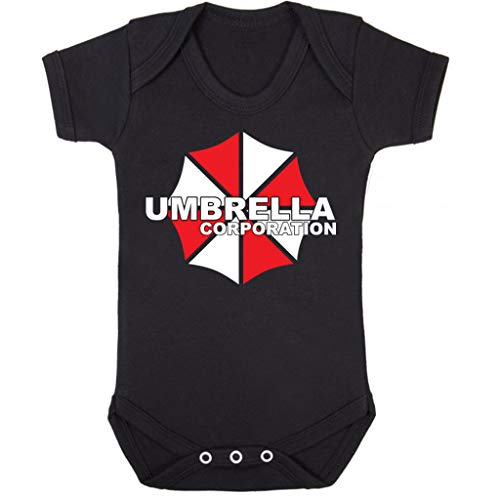 Cloud City 7 Resident Evil Umbrella Corp Logo Baby Grow Short Sleeve