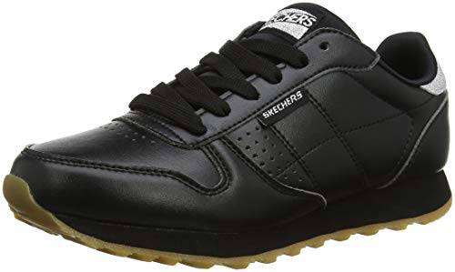 Skechers Damen Og 85-Old School Cool Hohe Sneaker, Schwarz (Black Blk), 39 EU