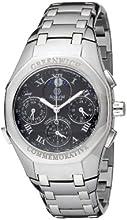Comprar Accurist GMT102 - Reloj cronógrafo de cuarzo para hombre con correa de acero inoxidable, color plateado