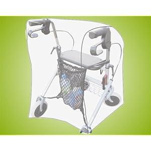 Staub- und Schutzabdeckung Rollatorschutzhaube für Rollatoren / Rollatorgarage *Top-Qualität zum Top-Preis*