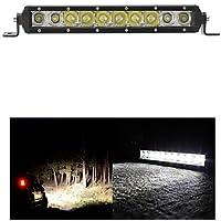 50W barra luminosa a LED 5000lm Combo per spegnere il trattore su strada Carrello barca ATV 4WD 4x4 di lavoro della barra di guida luce,12V,Nero