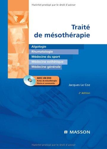 Traité de mésothérapie (1DVD) (Ancien prix éditeur : 78 euros)