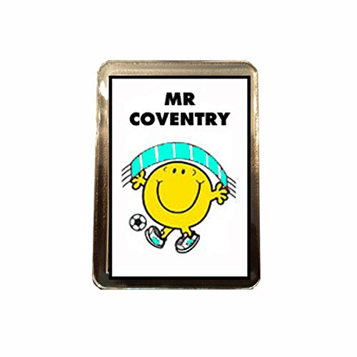 B Gifts Coventry City F.C - Mr Football Fridge Magnet