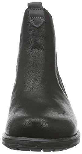 Think! Damen Liab Chelsea Boots Schwarz (SZ/KOMBI 09)