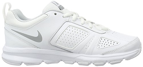 Nike T-Lite Xi, Chaussures de Fitness Femme Blanc (White/Metallic Silver/Pure Platinum/Black)