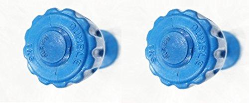 Aurion PVC1 Plastic Dumbell Set, 2Kg (Multicolour)