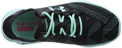 Under Armour Ua W Speedform Apollo Vent, Chaussures de course pour compétition femme Noir - Schwarz (Black/Crystal/Crystal 001)