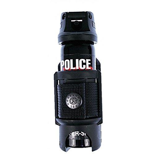 G8DS® Profi Schnellziehholster für Gas- u. Pfeffersprays 63 ml Abwehrspray Pfefferspray Gasspray Security 2112