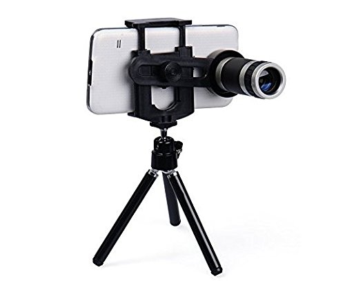 Twogood 8X ZOOM TELESCOPE Lens & Mini stand For Redmi Note 4 (1 Year Warranty,Assorted Colour)