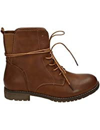 Jumex - botas estilo motero Mujer