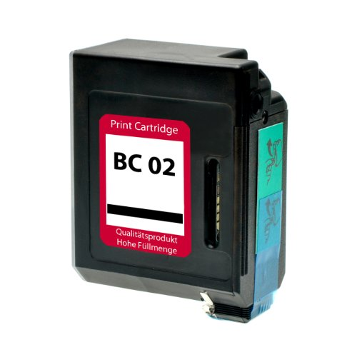 Preisvergleich Produktbild Tintenpatrone für Canon BC-02 - Schwarz, kompatibel