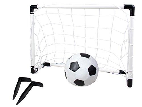 Fußball Set Tor + Ball Fußballtor Mini 56 x 38,5 x 17 cm Fußballspiel Garten von Alsino 8611 -