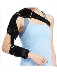 Réhabilitation Soin de l'épaule la prévention Correction Articulation de l'épaule Dislocation Accident vasculaire cérébral hémiplégie Réhabilitation équipement Vieil homme hémiplégie Provisions