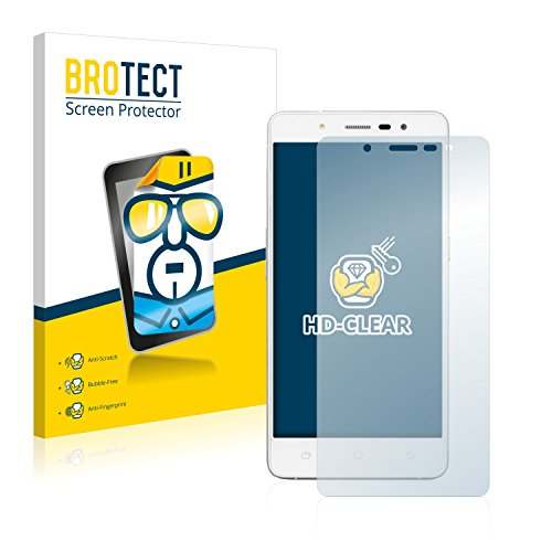 BROTECT Schutzfolie kompatibel mit Medion Life S5004 (MD 99722) [2er Pack] klare Bildschirmschutz-Folie