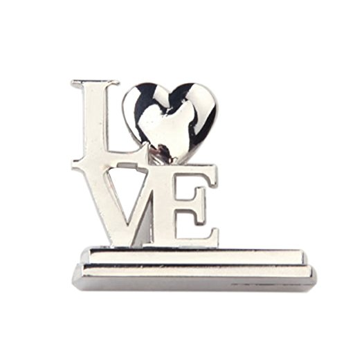 Pixnor 12 x cuore a tema ricezione tavolo posto titolare della carta favore di partito di nozze