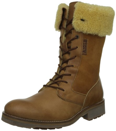 Aigle Chantelow P473,Damen Fashion Halbstiefel & Stiefeletten Braun (gold)