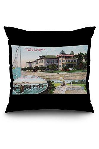 long-beach-california-exterior-view-of-the-long-beach-sanitarium-18x18-spun-polyester-pillow-case-wh