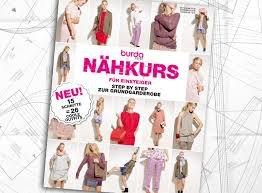 burda style Nähkurs für Einsteiger