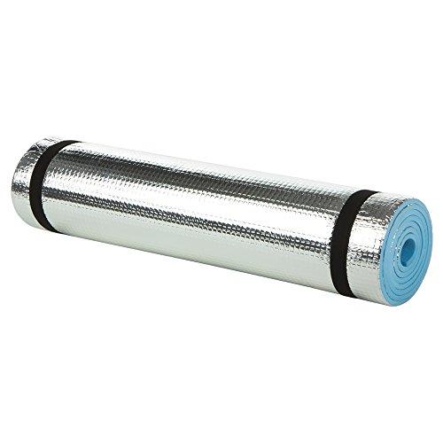 Aktive - Colchoneta aislante camping de aluminio 180 x 50 x 0.6 cm (52
