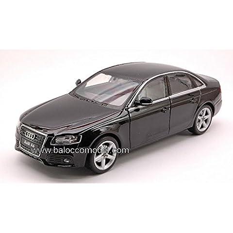 AUDI A 4 2007 BLACK 1:24 Welly Auto Stradali modello modellino die cast - 2007 4 Modello