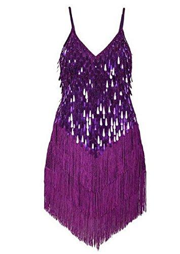 Travelday® Damenschlinge umsäumt spangly Kleid für (Tanz Für Kostüme Ideen)