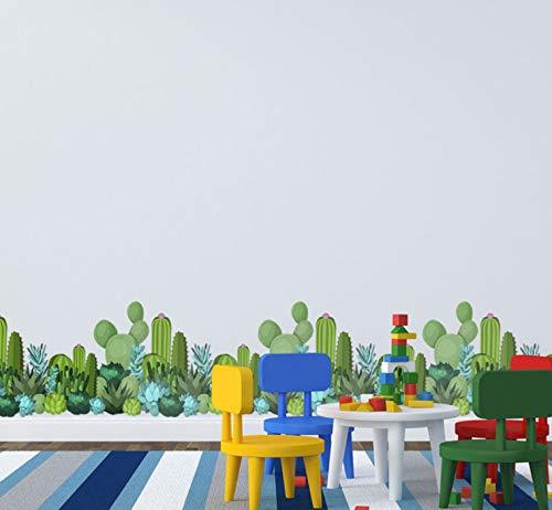 Kaktus Wand Grenze Decals Vinyl Aufkleber Home Art Wand Küche Badezimmer Dekor Aufkleber