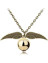 TBOP NECKLACE Harry Potter And The Wings Of Gold Burglar Alloy Necklace 2cm*1.6cm 10.1g