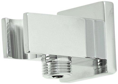 Artos F902-19BN Shower Outlet Elbow With Handshower Holder, Brushed Nickel by Artos - Nickel Handshower Outlet