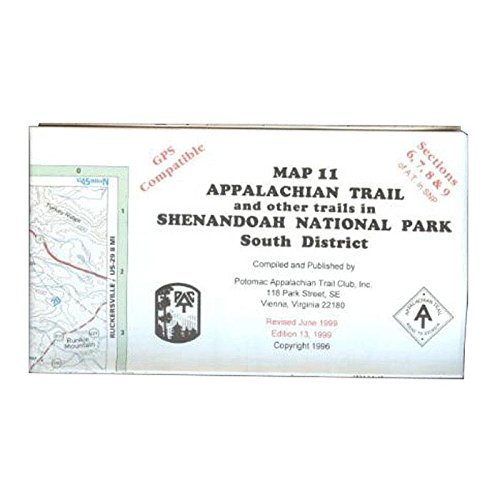 At Map Shenandoah South, A.t.c., Publisher  Ap Trail #127 by AP TRAIL CONSERVANCY Picture